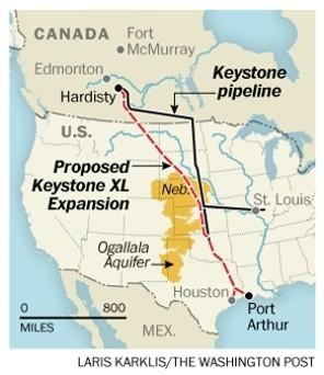 Keystone-Pipeline-map